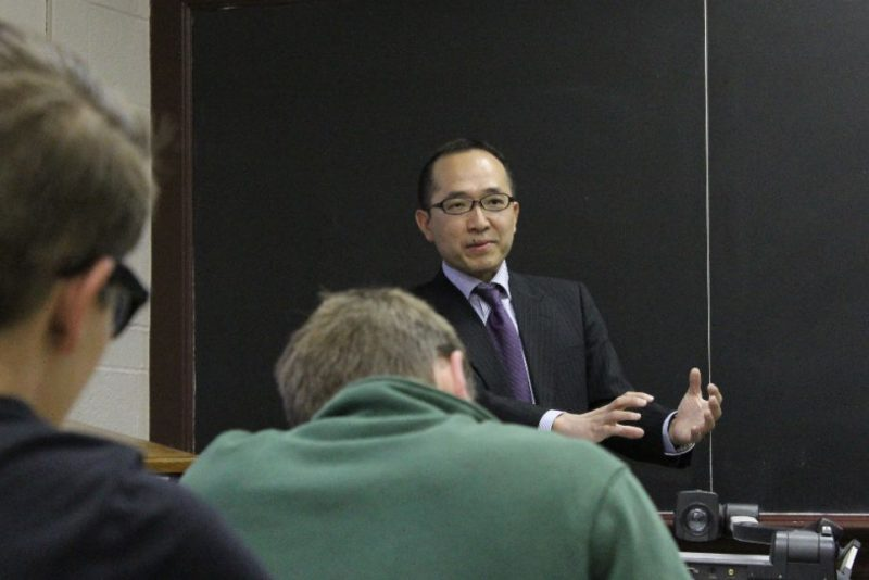Japanese Negotiator Visits Virginia Tech Department Of Agricultural And Applied Economics