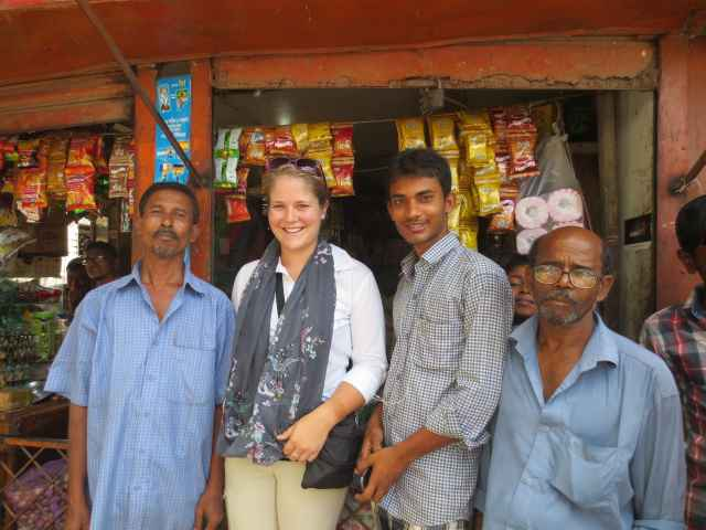 Jessica Agnew works with businesses to address malnutrition deficiencies.